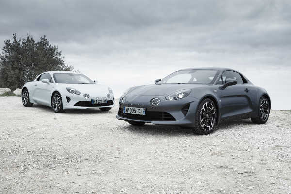 Alpine A110 Pure & Alpine A110 Légende 2018