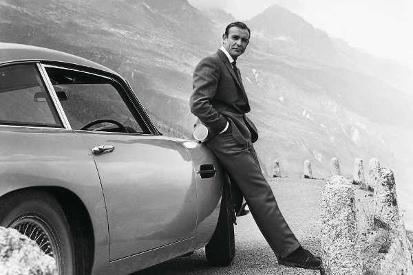 Aston Martin DB5 Goldfinger Sean Connery