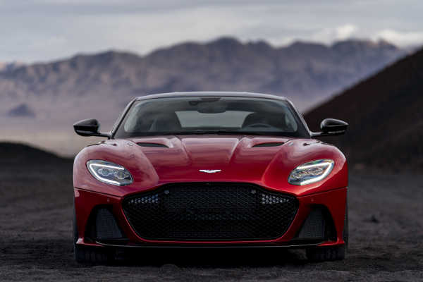 Aston Martin DBS Superleggera 2019 Frontansicht
