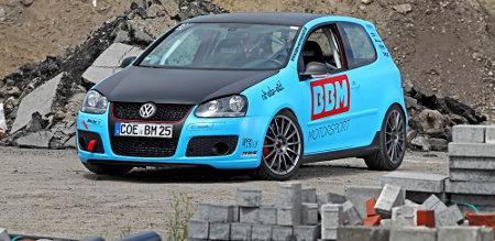 Andrea Friedrich im Golf V GTI by BBM Motorsport