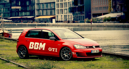 VW Golf VII GTI Plus by BBM Motorsport