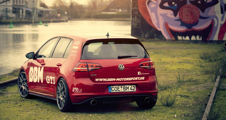VW Golf VII GTI Plus by BBM Motorsport