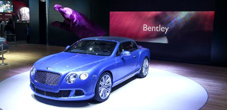 Bentley Continental GT Speed Convertible Detroit NAIAS 2013