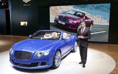 Bentley Continental GT Speed Convertible Detroit NAIAS 2013