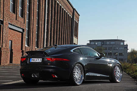 Jaguar F-Type Coupé by BEST Cars and Bikes