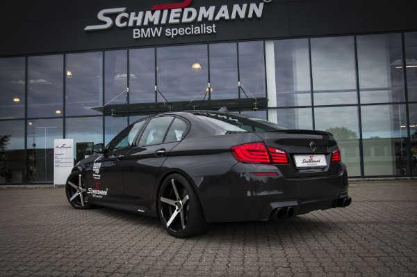 BMW 550i von Schmiedmann mit Bilstein Fahrwerk