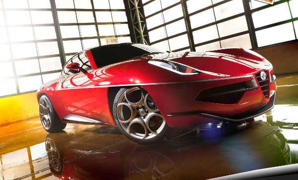 Alfa Romeo Disco Volante mit Bilstein-Airlift