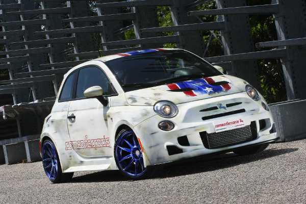 Fiat 500 by Bilstein & Romeo Ferraris