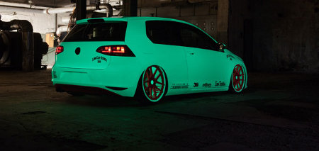VW Golf VII Light Tron by BlackBox-Richter & Low-Car-Scene