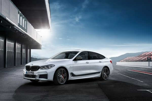 BMW 6er Gran Turismo mit M Performance Parts