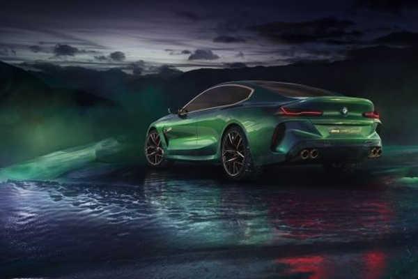 BMW Concept M8 Gran Coupé 2018