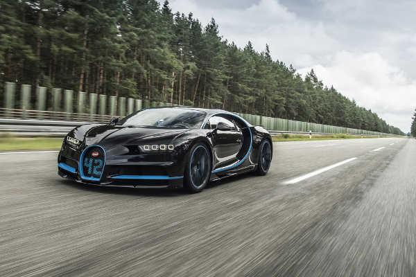 Bugatti Chiron in 42 Sekunden von null auf 400 km/h und wieder null