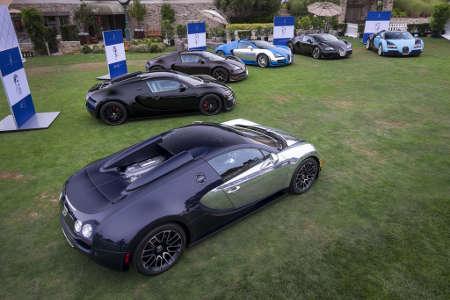 Légendes de Bugatti