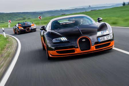 Bugatti Veyron 16.4 Super Sport & Bugatti Veyron 16.4 Grand Sport Vitesse