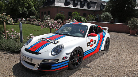 Porsche 911 997 GT3 Martini by Cam Shaft