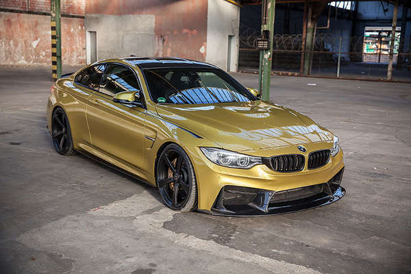 BMW M4 mit 3DDesign Bodykit by Carbonfiber Dynamics