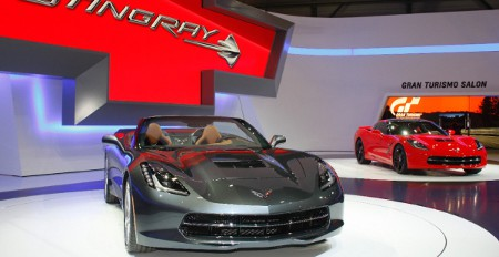 Chevrolet Corvette C7 Stingray Convertible Cabrio 2014