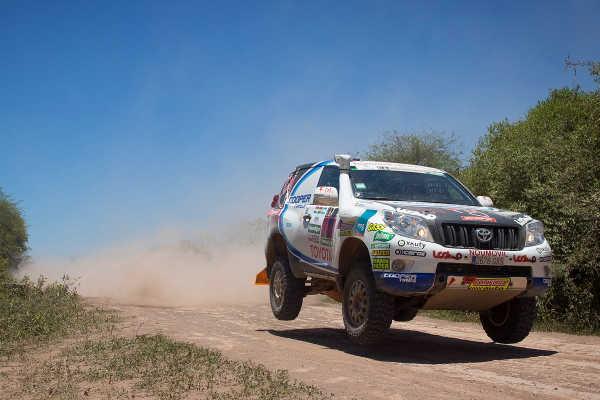 Rallye Dakar 2017 Xavi Foj Motorsport