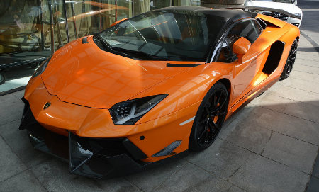 Lamborghini Aventador Roadster SV by DMC
