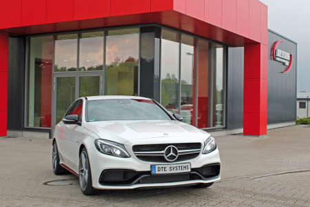 Mercedes C63 AMG by DTE-Systems