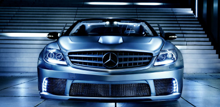 Mercedes CL 63 AMG mit Widebodykit by Famous Parts