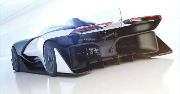 Faraday Future ZERO1 Concept