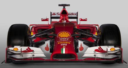 Ferrari F14 T Formel 1 2014