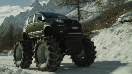 Fiat Panda Monstertruck Bigfoot