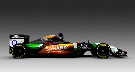Force India VJM07 Mercedes 2014