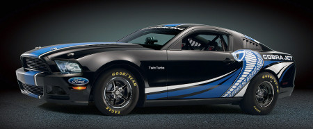 Ford Mustang Cobra Jet Twin-Turbo Concept SEMA 2012