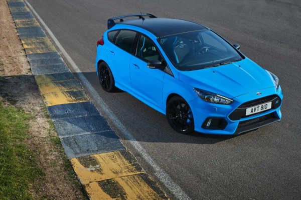 Ford Focus RS Blue & Black 2017