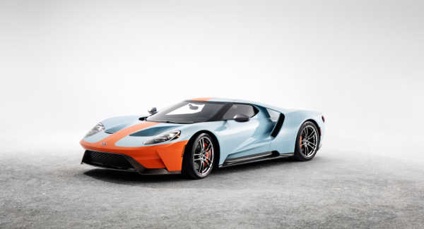 Ford GT Heritage Edition 2018