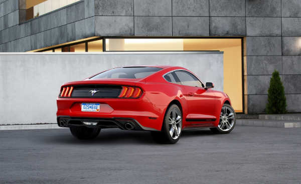 Ford Mustang 2018 mit Quiet Mode
