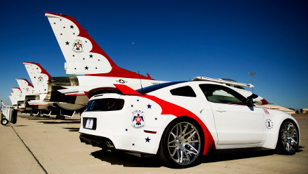 Ford Mustang U.S. Air Force Thunderbirds Edition 2014