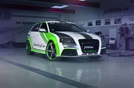 Audi RS3 Safety Car by fostla.de