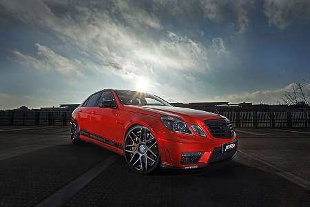 Mercedes E63 AMG by fostla.de
