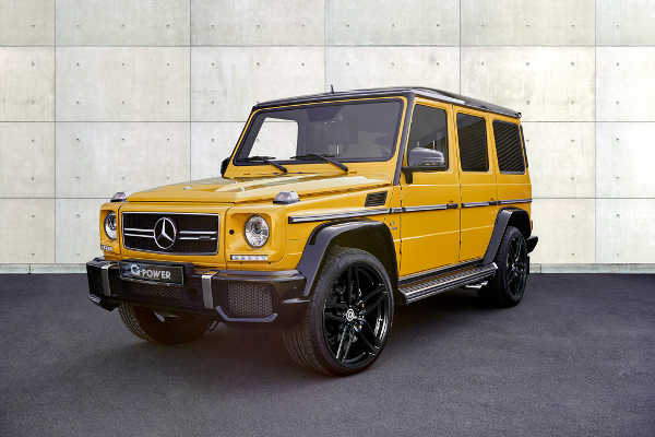 Mercedes G63 AMG by G-Power