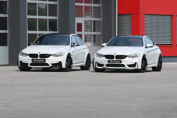BMW M3 F80 & BMW M4 F82 by G-Power