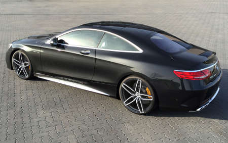 Mercedes S63 AMG Coupé by G-Power