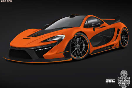 GSC McLaren P1 Night Glow