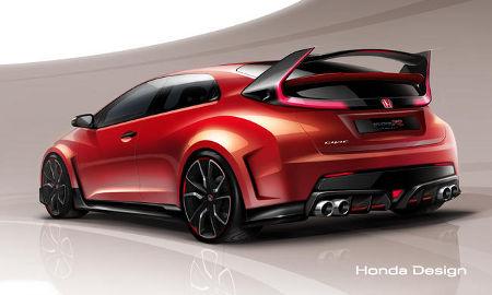 Honda Civic Type R Concept Genf 2014