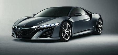 Honda NSX Concept Detroit NAIAS 2013