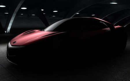 Honda NSX 2015 Serienmodell