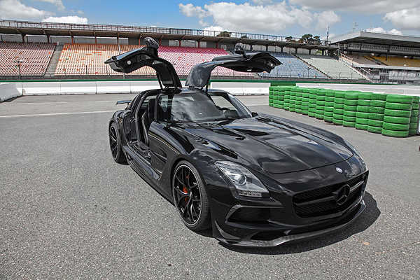 Mercedes SLS AMG Black Series von Inden Design
