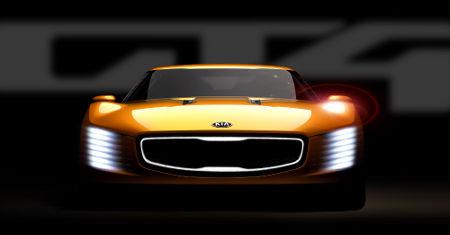 Kia GT4 Stinger Detroit 2014