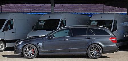 Mercedes E-Klasse T-Modell by KTW Tuning