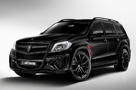 Mercedes GL Black Crystal by Larte Design