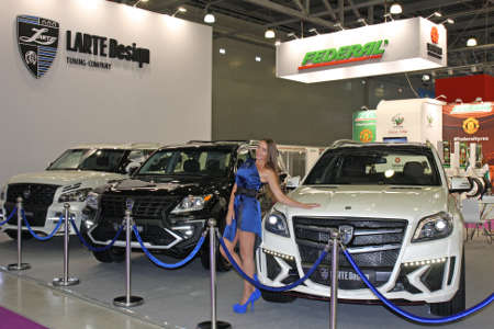 Larte Design Moskau Motor Show 2014