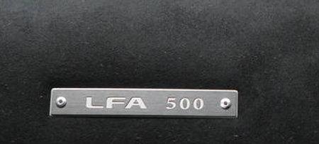 Lexus LFA Nummer 500
