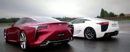 Lexus LFA & Lexus LF-LC